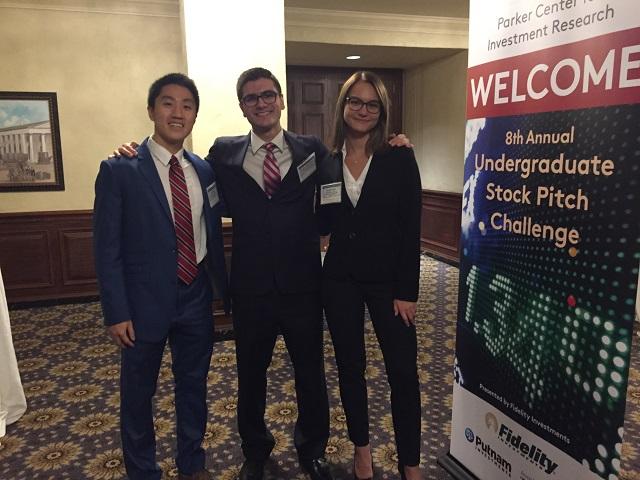2018 Undergraduate Stock Pitch Challenge Winners