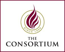 'The Consortium for Graduate Study in Management logo