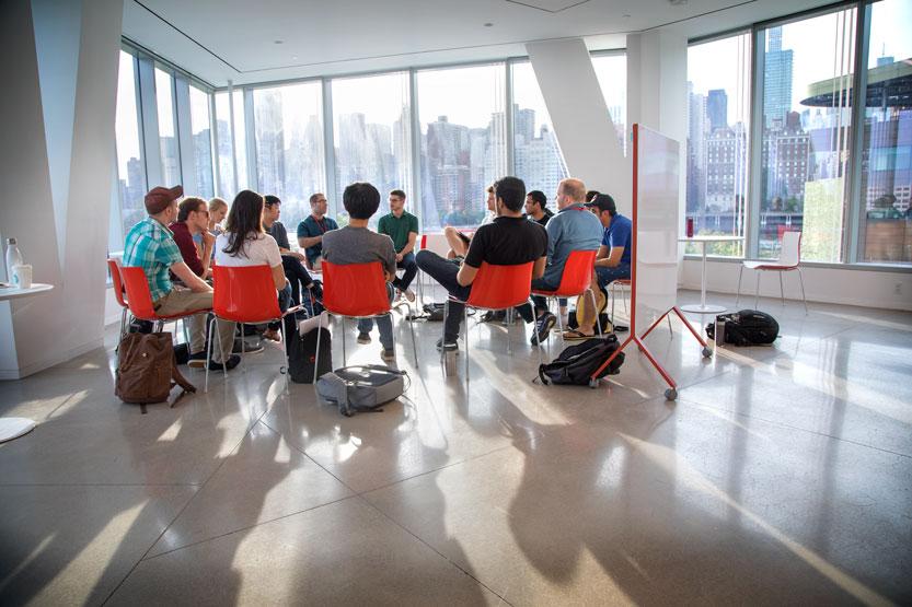 Cornell Tech Fintech Intensive stuents