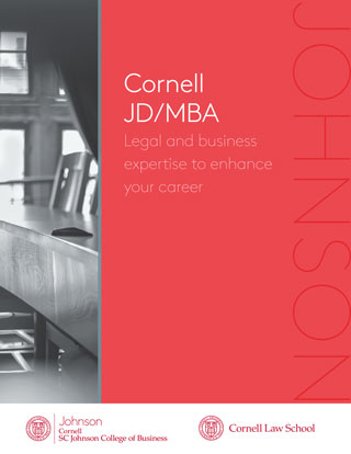 JD/MBA Info Sheet