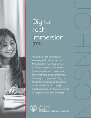 Digital Technology Immersion