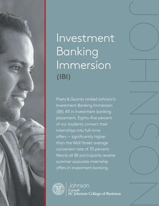 Investment Banking Immersion Handout