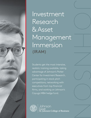 Investment Research and Asset Management Immersion