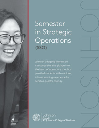 Semester in Strategic Operations Immersion