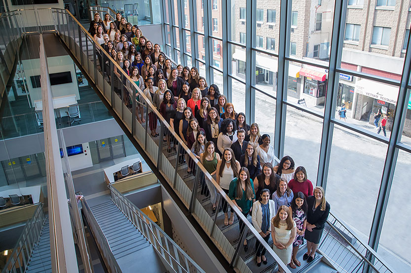 Johnson Women in Business group photo 2018