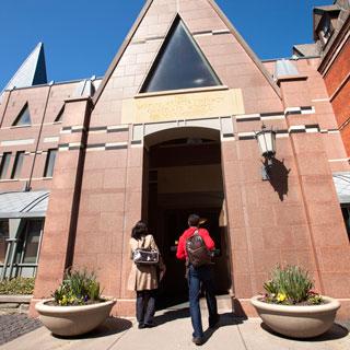 Sage Hall front entrance