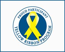 VETERANS AFFAIRS' YELLOW RIBBON PROGRAM logo