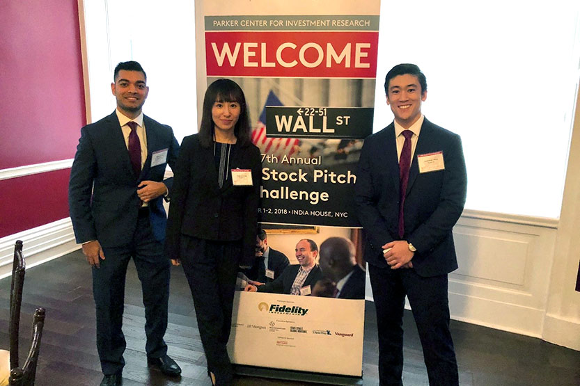 MBA Stock Pitch Winners