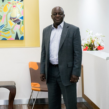 Profile in Leadership Paul Kavuma, MBA '93, Founder and CEO of Catalyst Principal Partners