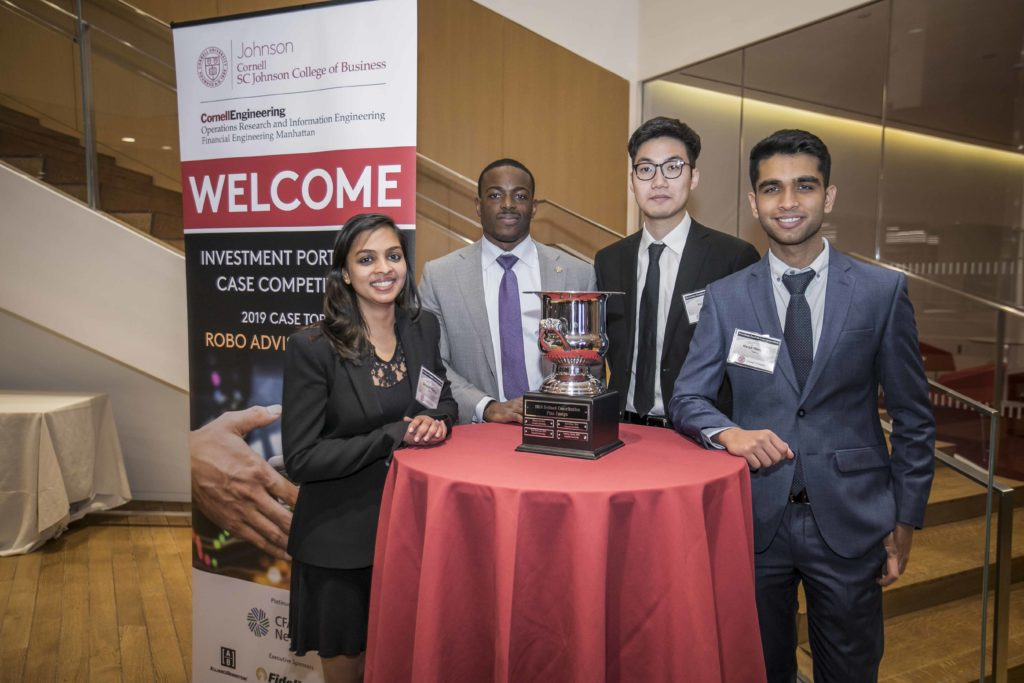 2019 Investment Portfolio Case Competition winners