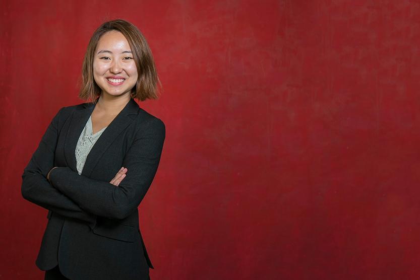 Sarah Song '17, MPS '18