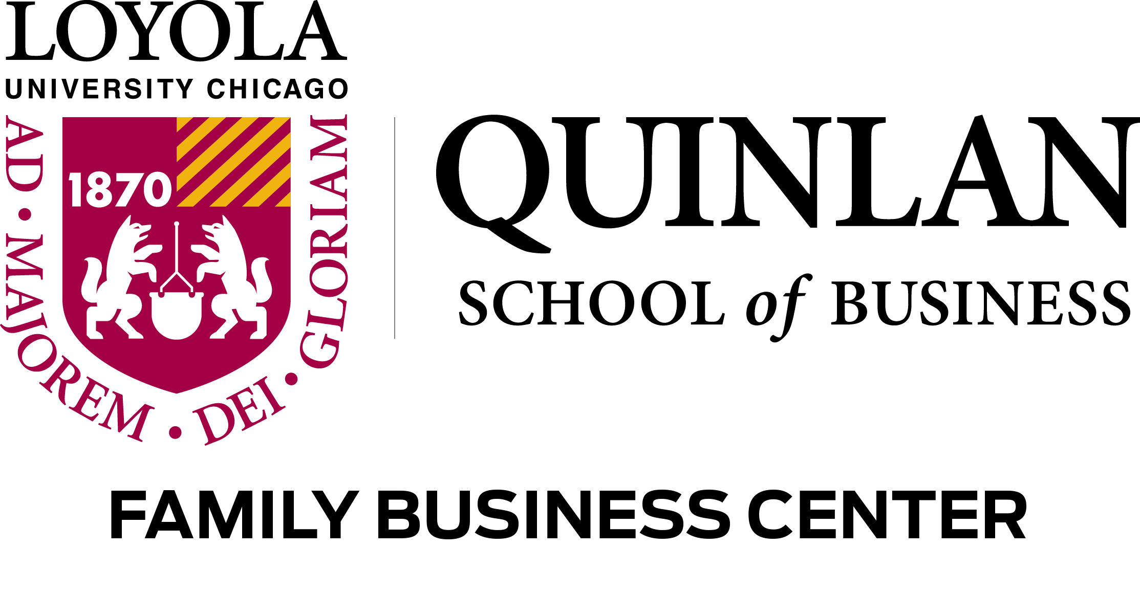 Loyola University Chicago - Quinlan School of Business Family Business Center logo