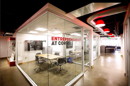 Office space at Entrepreneurship at Cornell