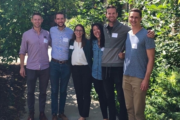 Six Park Fellows from the Classes of 2020 and 2021.