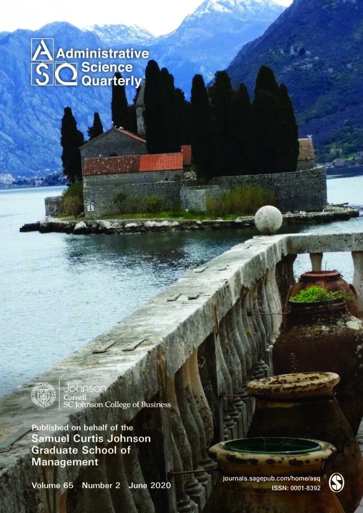 Administrative Science Quarterly Cornell Johnson