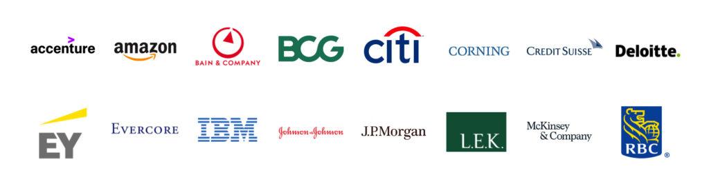 Top company logos