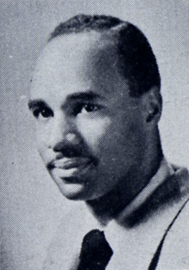 Black and white photo of Wilbur Parker