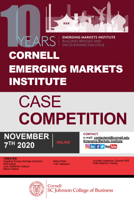 Fourth Annual Case Competition Flyer