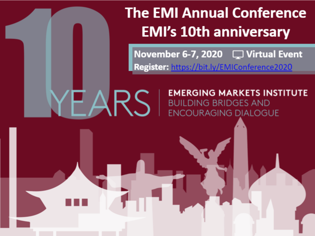 EMI 2020 Annual Conference and 10th Anniversary Flyer