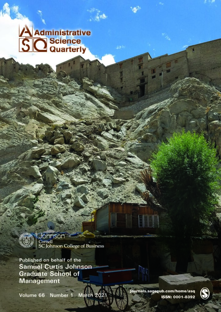 ASQ March 2021 front cover