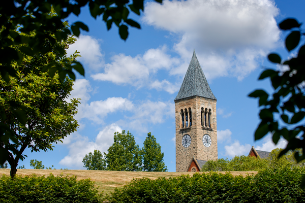 McGraw Tower in the summer