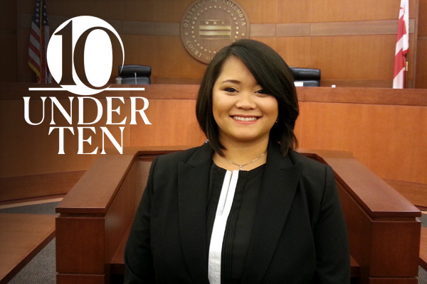 upper body portrait of Garylene Javier at the District of Columbia Court of Appeals